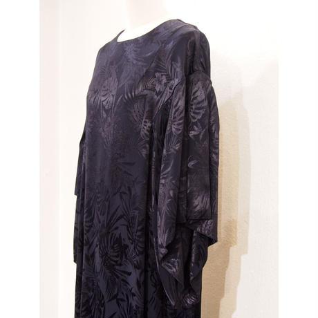 2101OP05 RAYON JAQUARD DRESS