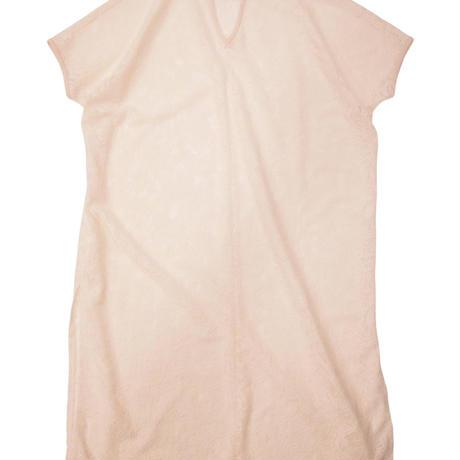 2103OP01 LAYERD STYLE LACE CAFTAN DRESS