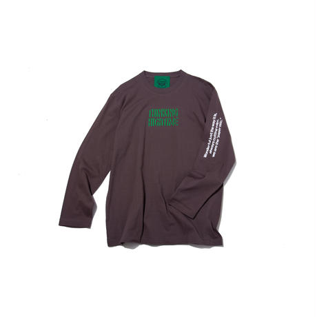 〈PAPERMIC〉THINKING HIGHTIME L/S T-Shirt