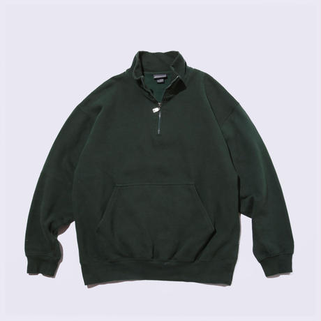 〈ST.JOHN'S BAY〉Half-zip Pullover Sweat