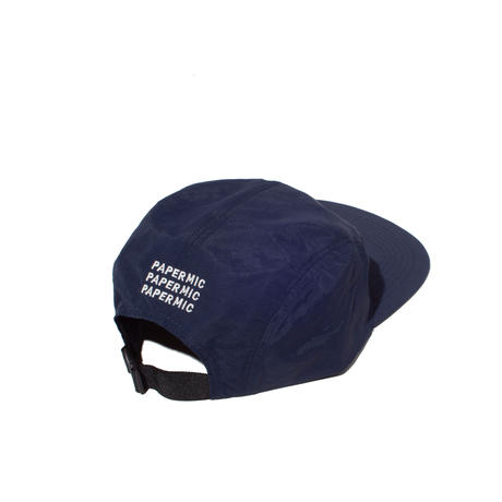 〈PAPER MIC〉CAMP CAP| Navy