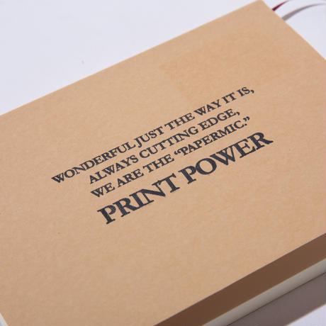 〈PAPERMIC〉PRINT POWER NOTE M