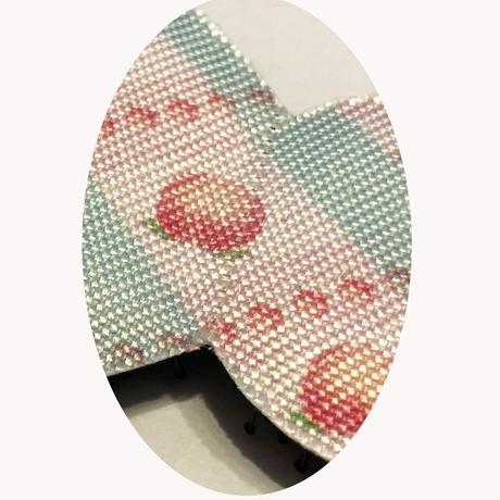 2020OUTLET Kamipita(髪ピタ)リボン  10*5cm (少々糸引きあり)