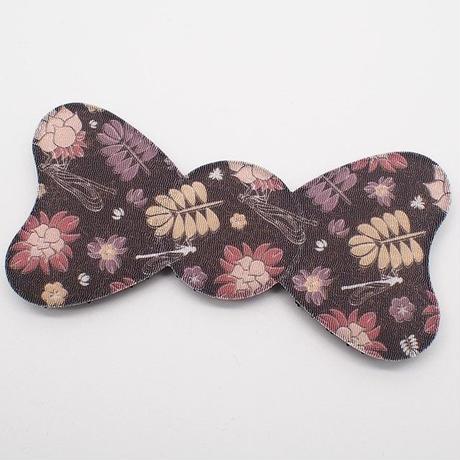 日本製 髪ピタ(KAMIPITA) リボン  ちりめん柄 新柄