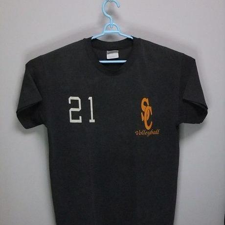 不明 Tシャツ ♠ Men's SizeL 管R1-0058