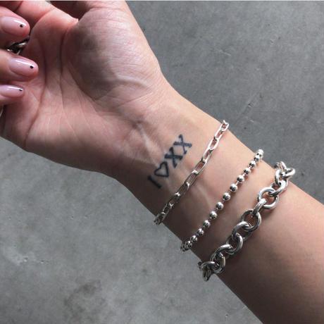 Silver Designchain Bracelet