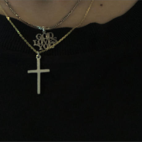 *数量限定item New Cross Top × O Necklace SET