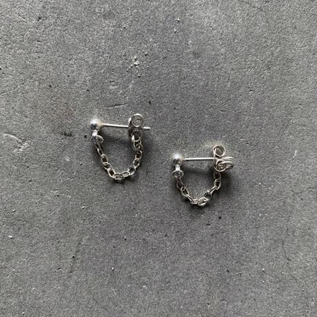 Silver  Ball Chain Pierce