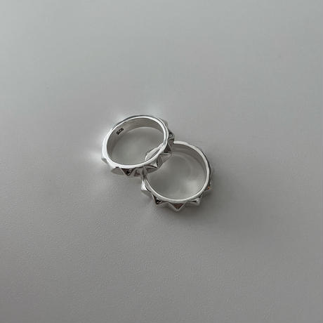 Silver Studs Ring