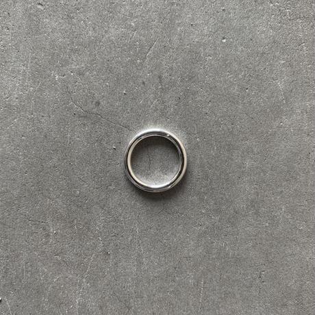 Silver K. Pinkie Ring