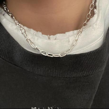 Silver Designchain Necklace