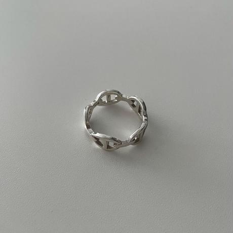 Silver Loro Ring