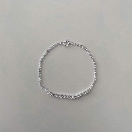 Silver Wchain Bracelet