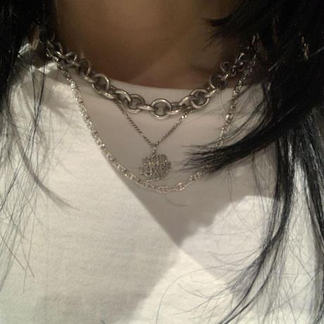 Silver Big Loro Necklace