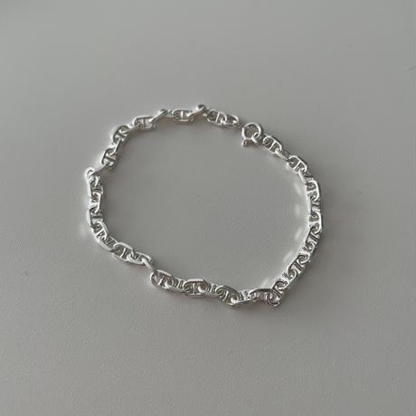 Silver Big Loro Bracelet