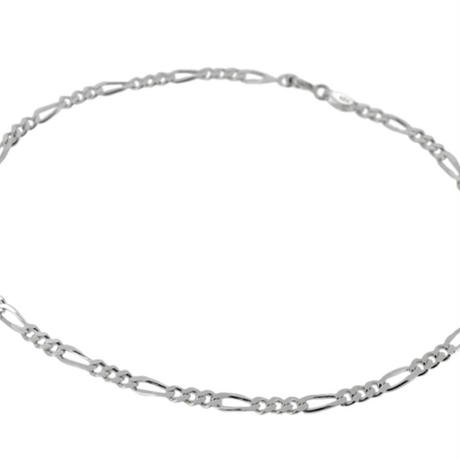 Silver  Figalo Anklet
