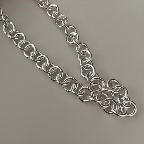 Silver Choker Necklace(L)