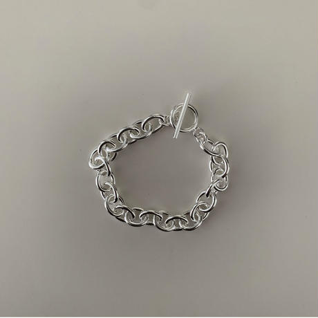 Silver Chain Bracelet (L)