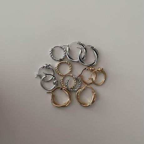 Silver Knot  Pierce