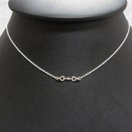 Silver Bit Necklace
