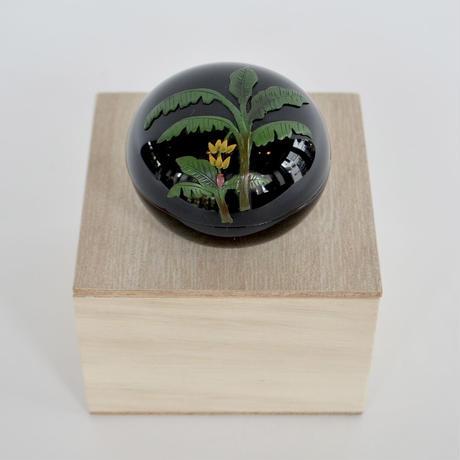 【琉球漆器】香合 芭蕉