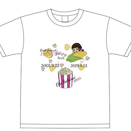 『桜井音』生誕祭Tシャツ(スリジエ・風組メンバー用6名分)