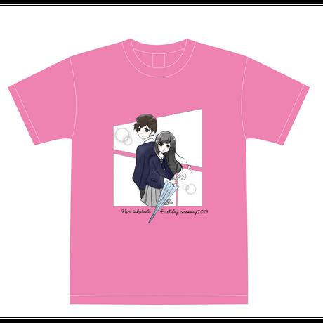 『櫻田玲音』生誕祭Tシャツ(スリジエ・虹組メンバー用6名分)