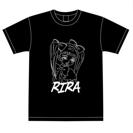 『愛川りら』生誕祭Tシャツ(スリジエ・風組メンバー用6名分)