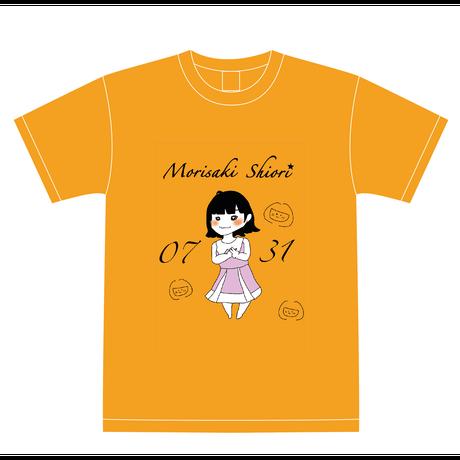 『森崎志桜里』生誕祭Tシャツ(配送限定・配送料込)