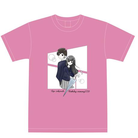 『櫻田玲音』生誕祭Tシャツ(スリジエ・星組メンバー用7名分)