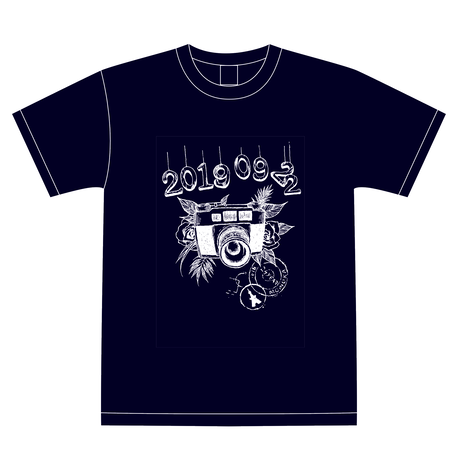 『青葉桃花』生誕祭Tシャツ(スリジエ候補生メンバー用15名分)