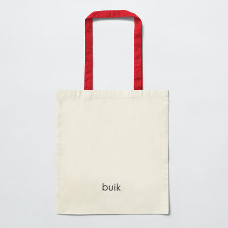 ANDREAS SAMUELSSON x BUIK ORIGINAL TOTE BAG / APPLE / RED