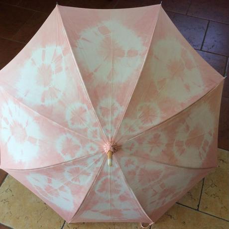 桜染め日傘