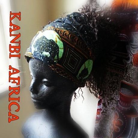アフリカ布帽子ターバン♪