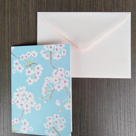 乙部なるみデザイン グリーティングカード<さくら>