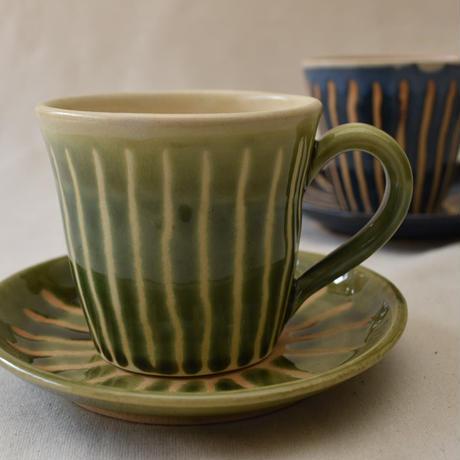 コーヒーカップ(ソーサー付き)