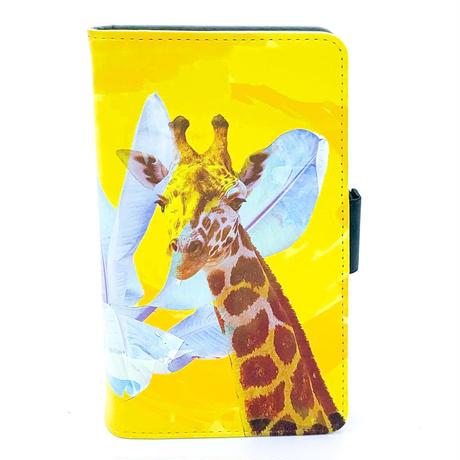 ワイルドスマホケース Radiant Giraffe