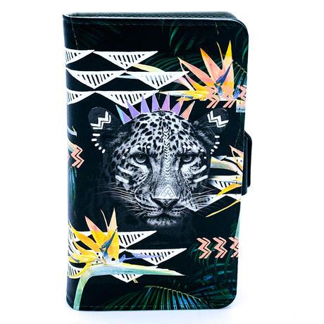 ワイルドスマホケース Fierce Leopard