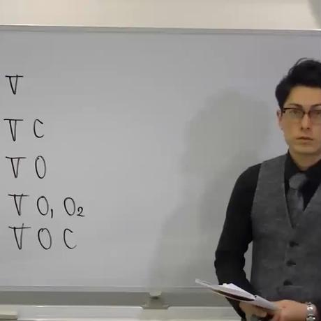 英語授業本編 第1講:5文型(後編)