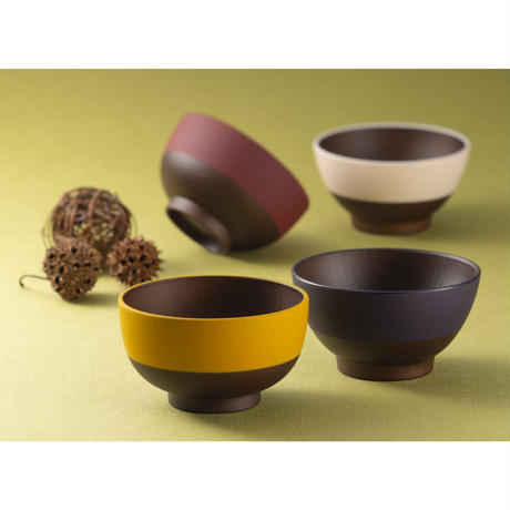 日本伝統色 プチ椀 古代朱