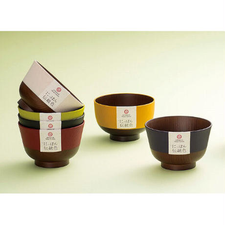 日本伝統色 京型 塗分丼 若葉色