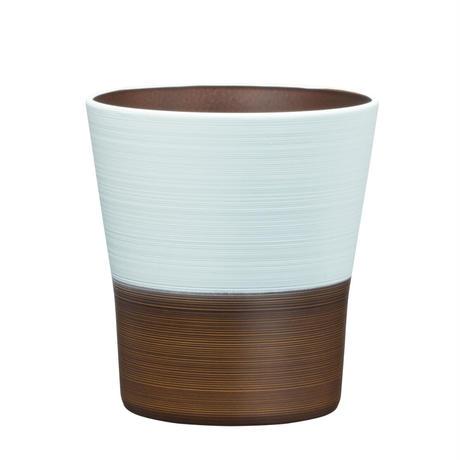 日本伝統色 塗分 フリーカップ  藍白