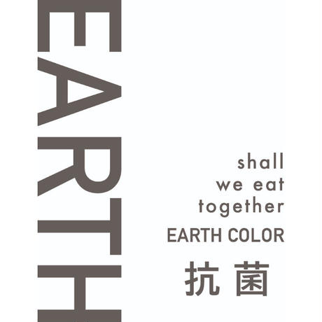 EARTH COLOR 抗菌スクエアプレート RED