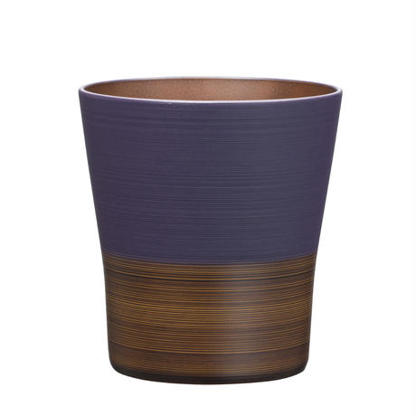 日本伝統色 塗分 フリーカップ 茄子紺