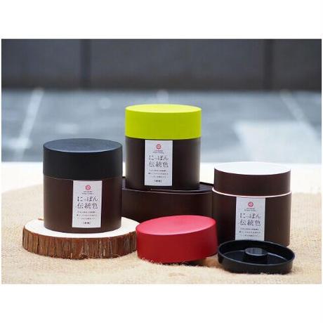 日本伝統色 塗分茶筒 漆黒