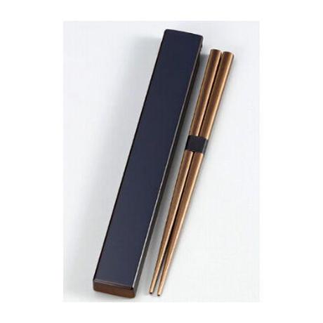 日本伝統色 箸箱&抗菌箸 漆黒