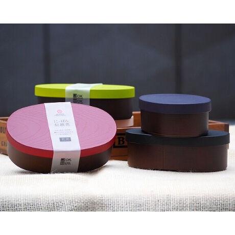 日本伝統色 抗菌わっぱ小判弁当 漆黒