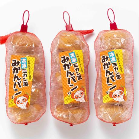 冷凍ミカン風みかんパンだ5個入×3袋