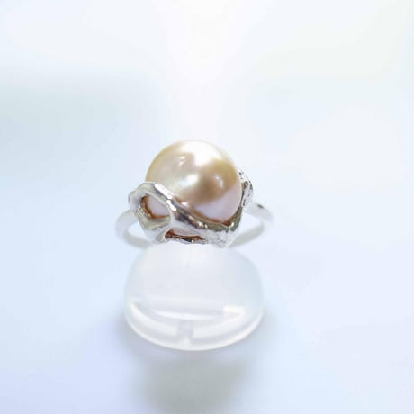south sea pearl gold ring