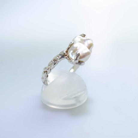 south pearl ring white